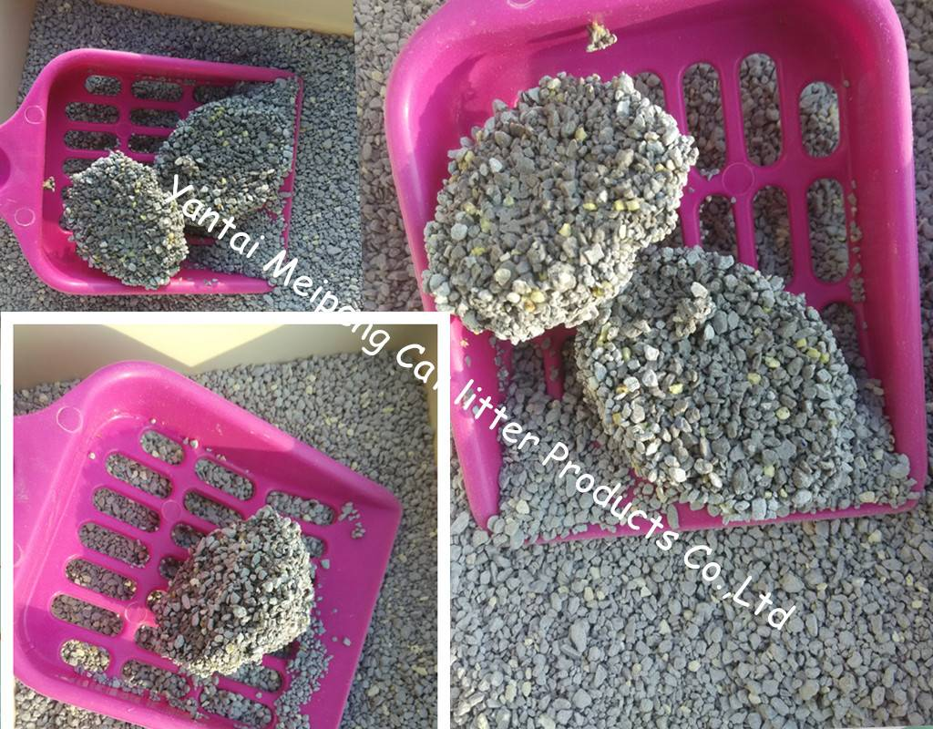 CIPS hot sales irregular shaped bentonite cat litter sand