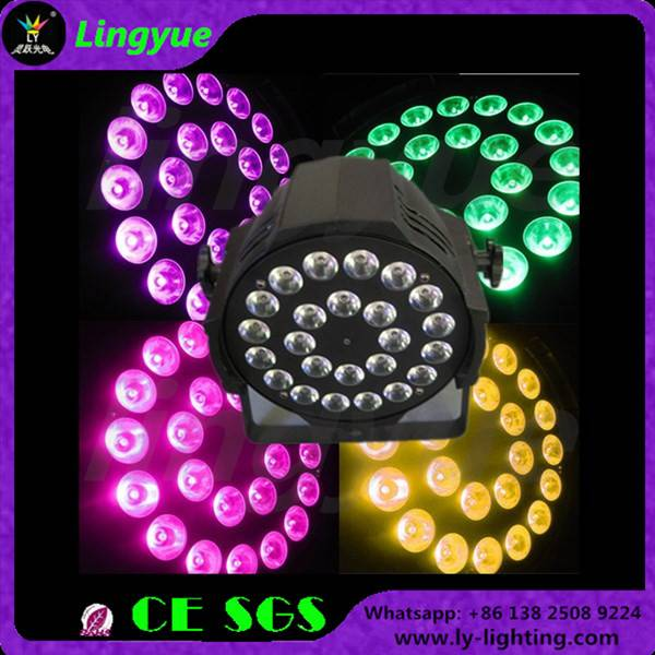 24x12w rgbw 4in1 indoor stage led par can
