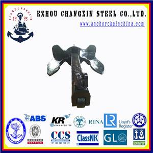 U.S. stockless navy ship anchor for sales