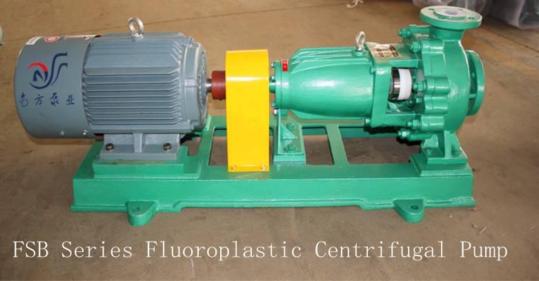 FSB Fluoroplastic Alloy Centrifugal PTFE  Pump