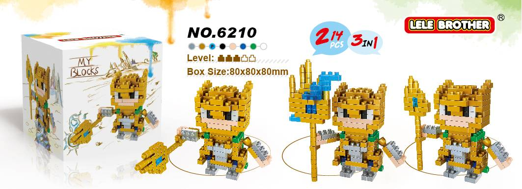 Lele Brother Diamond Block Building Block Avengers Hero Loki (2 in 1) 2015 New Arrival