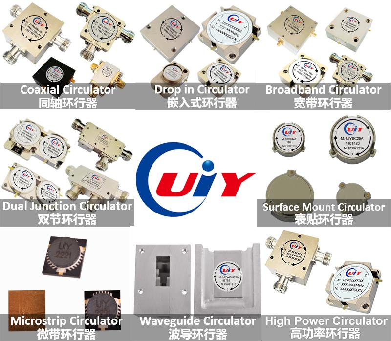 RF Circulator Microwave Waveguide Circulator High Power Circulator