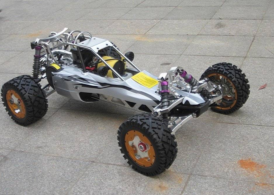KM 3.0 Baja 5b 30.5cc with Full Sliver Alloy Metal