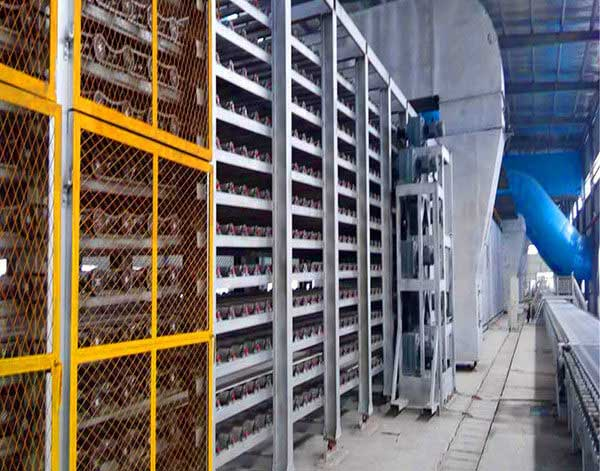 paper faced gypsum board production plant