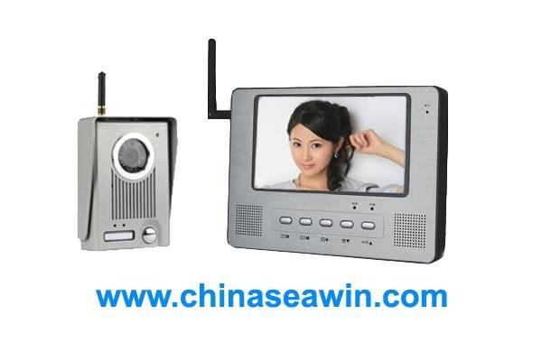 7 inch wireless video door phone
