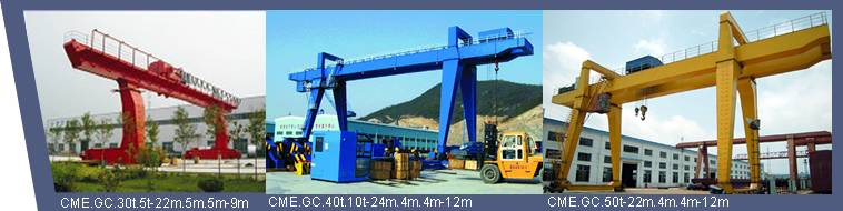 Gantry Crane for Warehouse or Goods Yard Field
