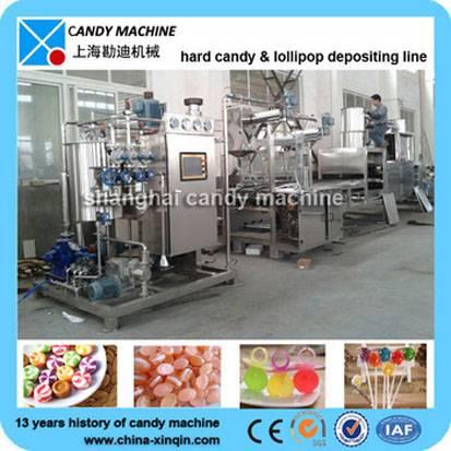 High quality hard candy manufacturing machine