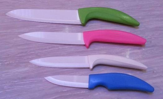 Kitchen knife Zirconia ceramic knife 3+4+5+6 with ABS handle