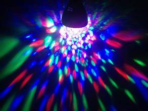 1.5w -3w E27 B22 LED party light Rotating Lamp For Party Disco rgb led full color rotating lamp ligh