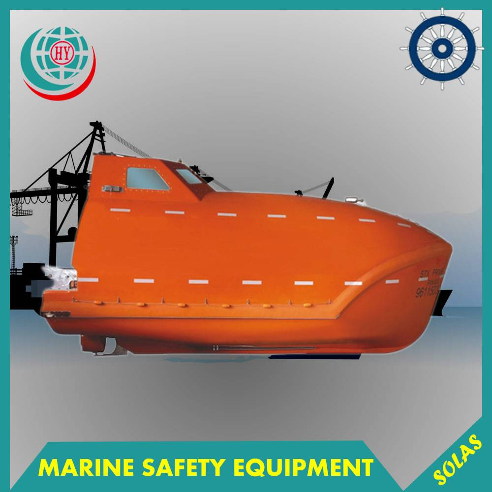 Marine GRP Free Fall Lifeboat For Sale