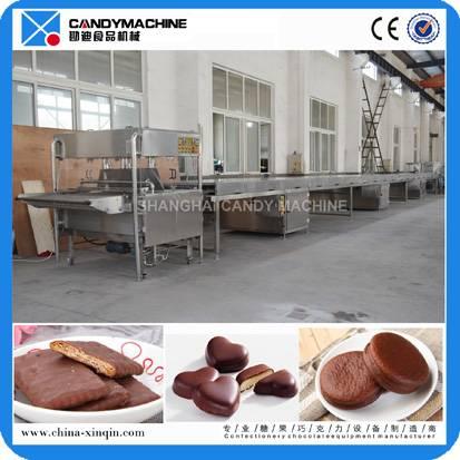 Unique designed chocolate coating machine