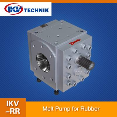 Gear pump can be a very good application in rubber industry