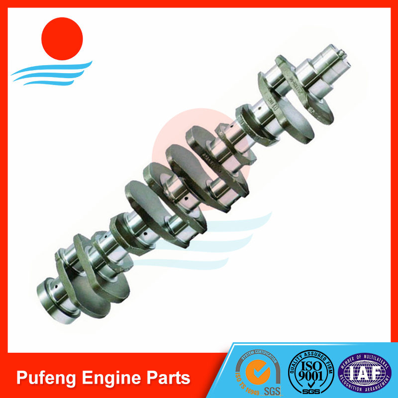 KOMATSU Engine Crankshaft 6D107 for excavator PC200-8