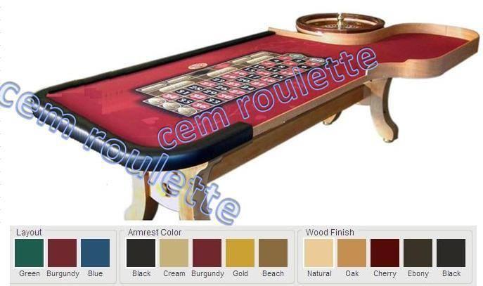 roulette table,casino roulette table,pro casino roulette table,right hand roulette table