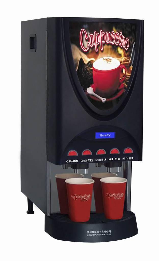 Double-quick Coffee Machine for Fast Food Service - Golden Monaco XL