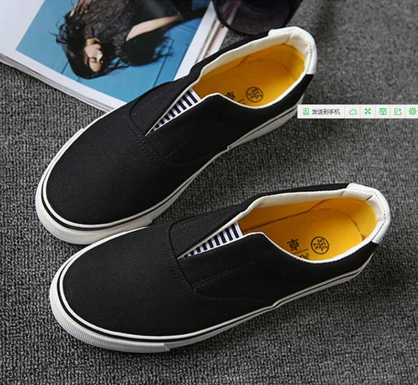 Fashion Canvas Shoes Men Lady Footwear Pure Color Shoes