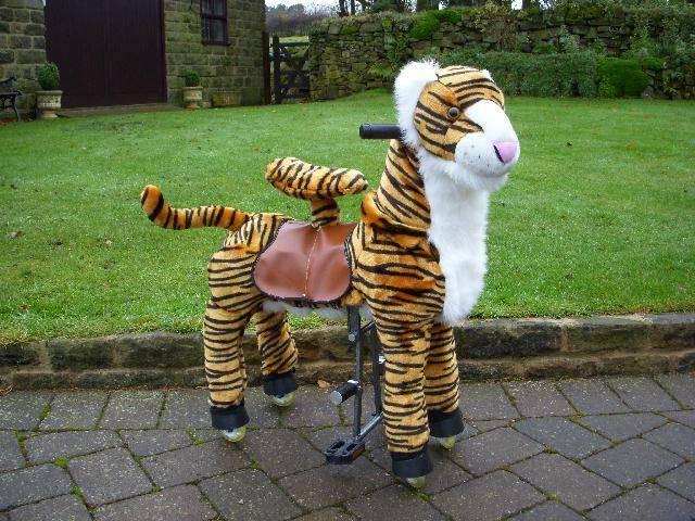 plush ride on toy