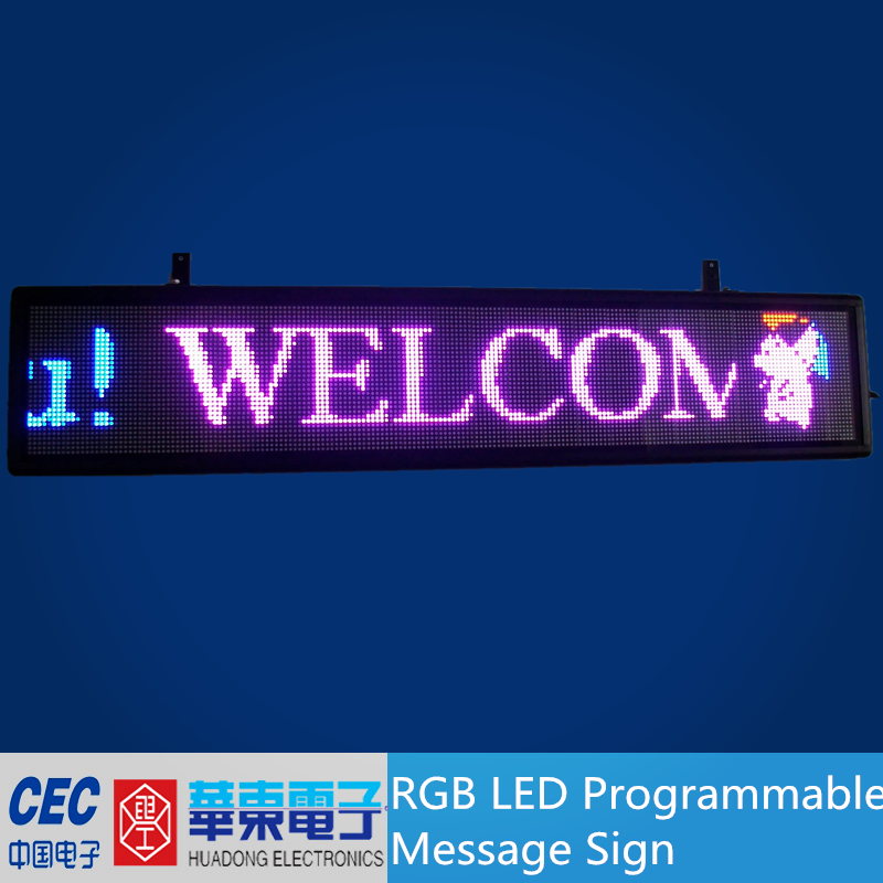 Hot LED Scrolling Sign, Programmable message sign
