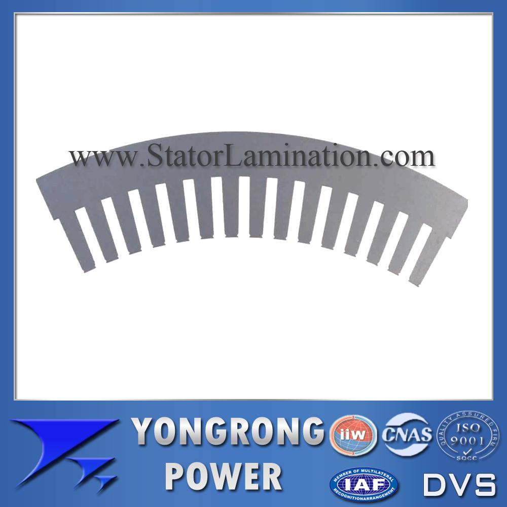 IE3 Premium Efficiency Electric Motor Segment Silicon Steel Lamination