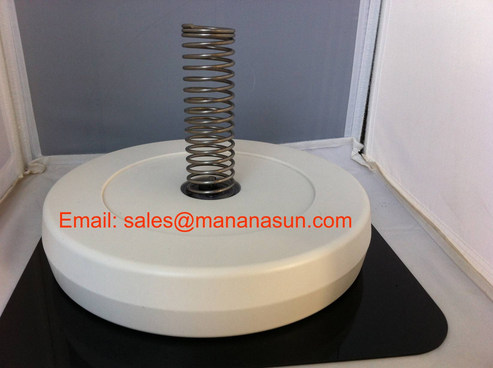 Solar Pool Ionizer With Special Material Spring