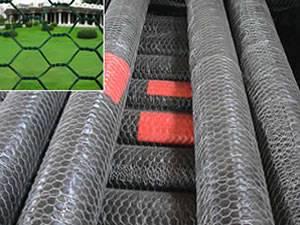 Hexagonal Wire Fence
