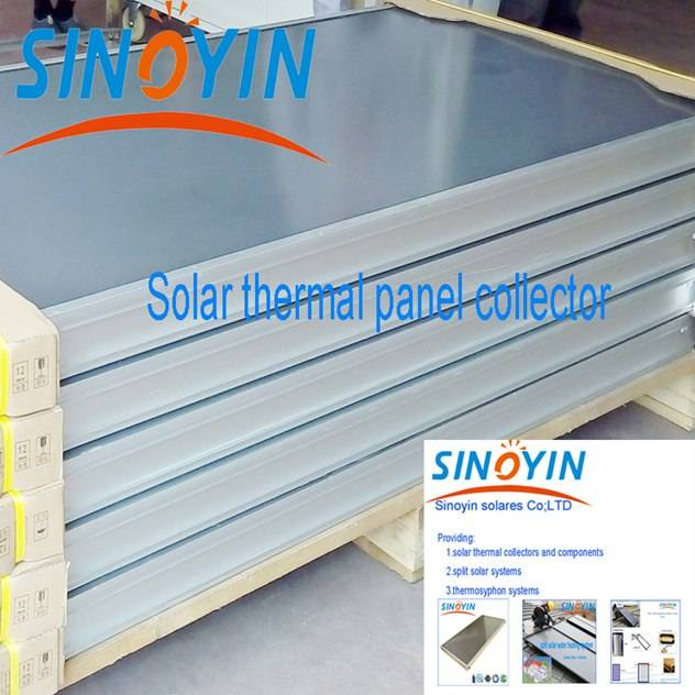 solar thermal heating collector of 2sqm