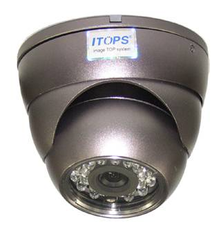 IR LED Day & Night 3 Axis Dome Camera