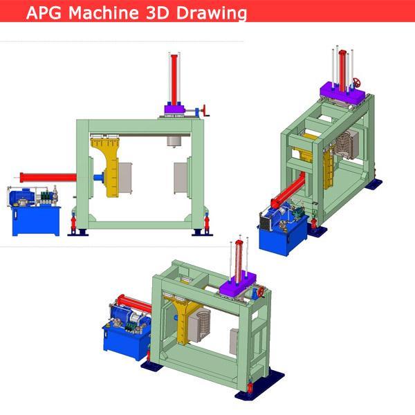 Standard APG clamping machine