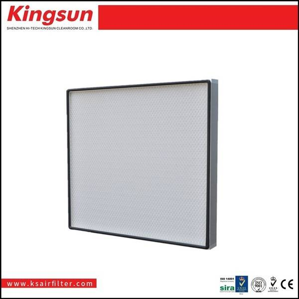 Mini pleat Alumiunm frame ULPA filter U15