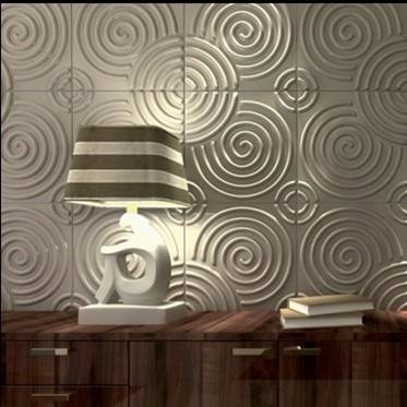 new design embossed wallpanel for wall decoration