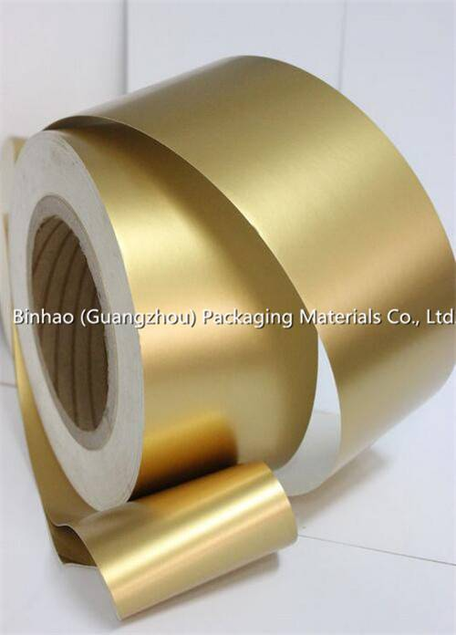 Gold Aluminum Foil Paper for Packing