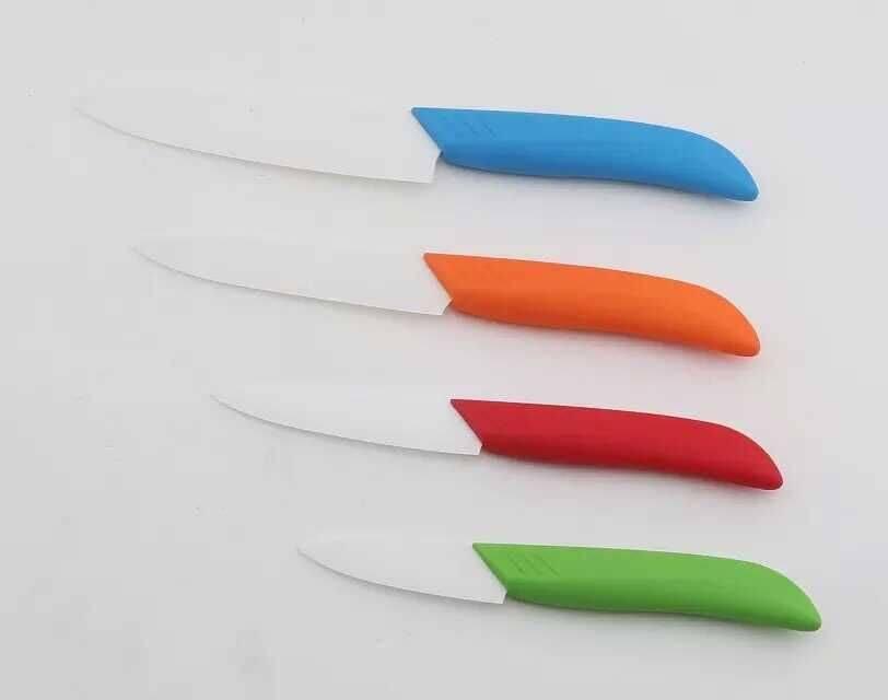 Rinvay 4pcs ceramic knife set