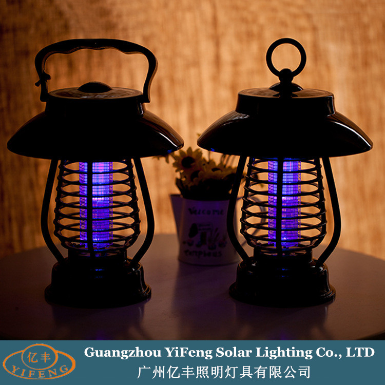 Yifeng YF-159 Hot-selling Intelligent Light-operated Switch Solar Bug Zapper