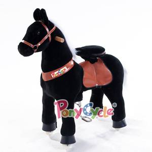 "Pony Cycle Horse, Action Pony, Ride on Toy, Medium Moving Rocking Horse, Giddyup, Go Go, Pony 36"" Un"