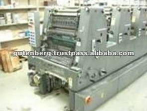 Used Printing Machinery Heidelberg GTOF52+NP