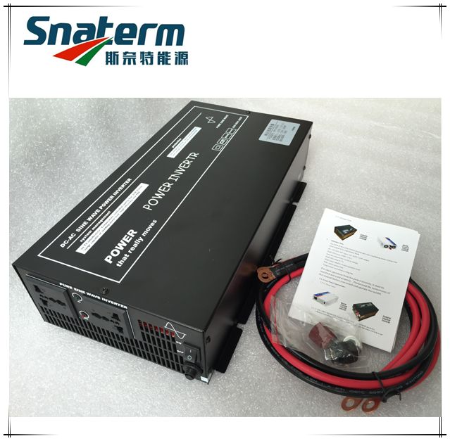 2000W High frequency pure sine wave dc to ac power inverter