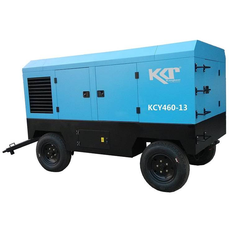 KCY460-13 portable rotary screw air compressor