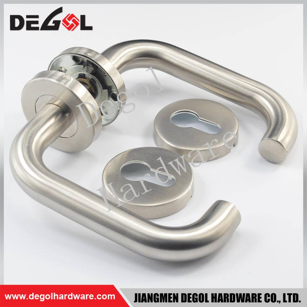 Latest stainless steel room in side door handle