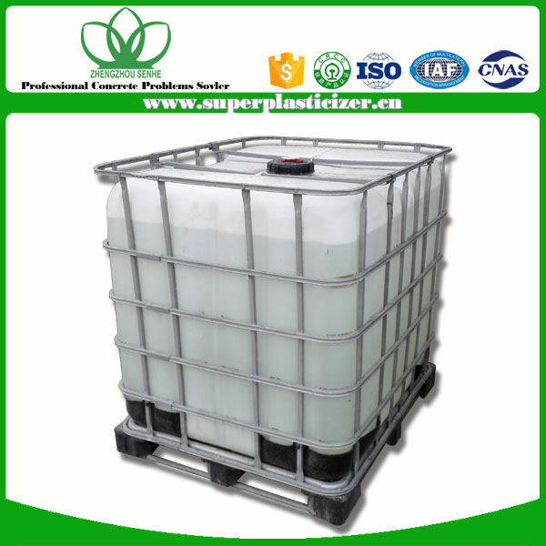 high quality concrete admixtures Senhe PCE polycarboxylate superplasticizer for concrete