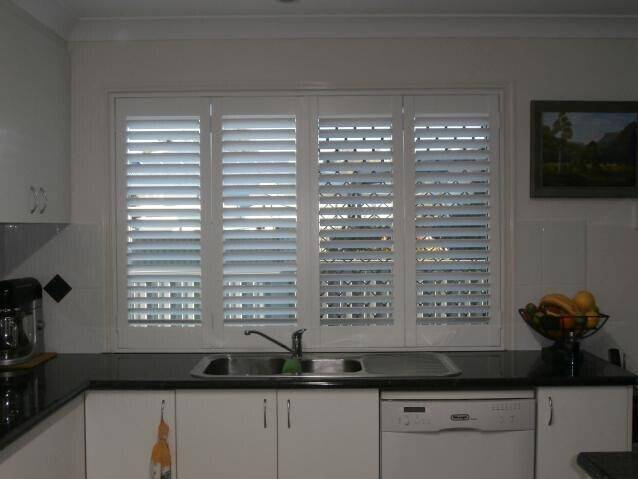 Solid Timber Plantation Shutter