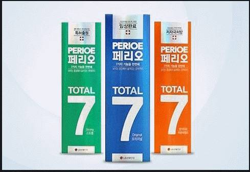 PERIOE TOTAL 7 toothpaste