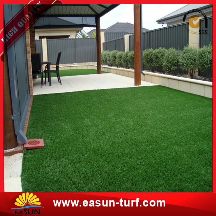 Cheapest plastic artificial grass carpet grass paver mat for sale-Donut