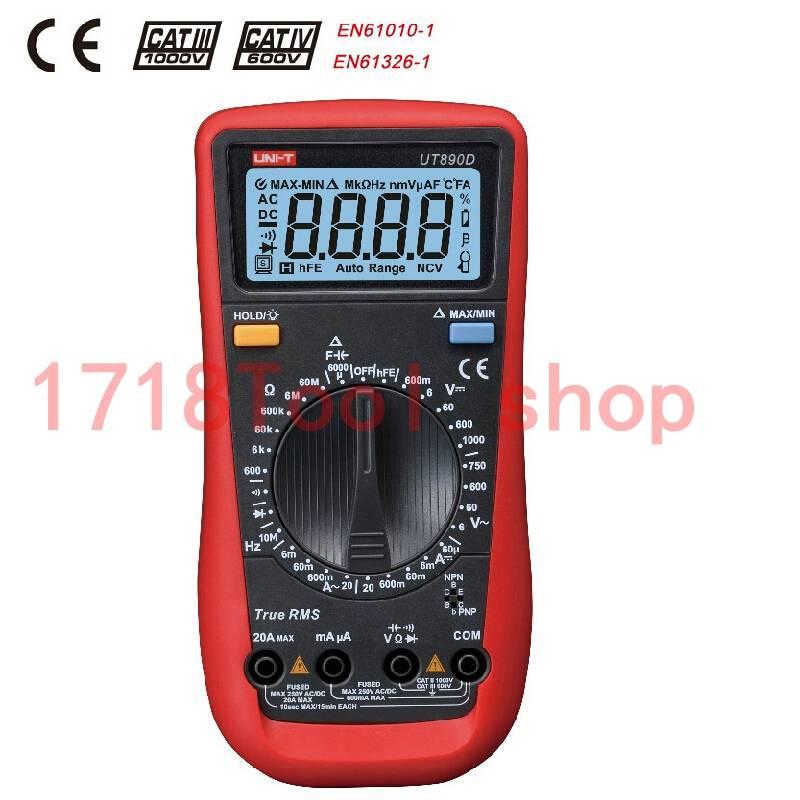 UT890d multimeter