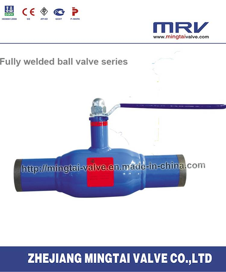 Dh-Standard Fully Welded Ball Valve with Handle Lever