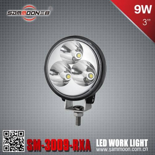 3 Inch 9W LED Work Light