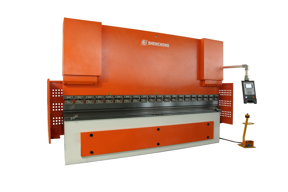 CNC hydraulic press brake 100T4000 ESA 530 for sheet metal fabrication