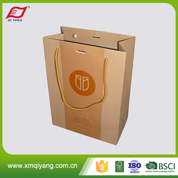 Making machine custom craft paper bag wholesale from China