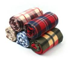 polar fleece blanket throw