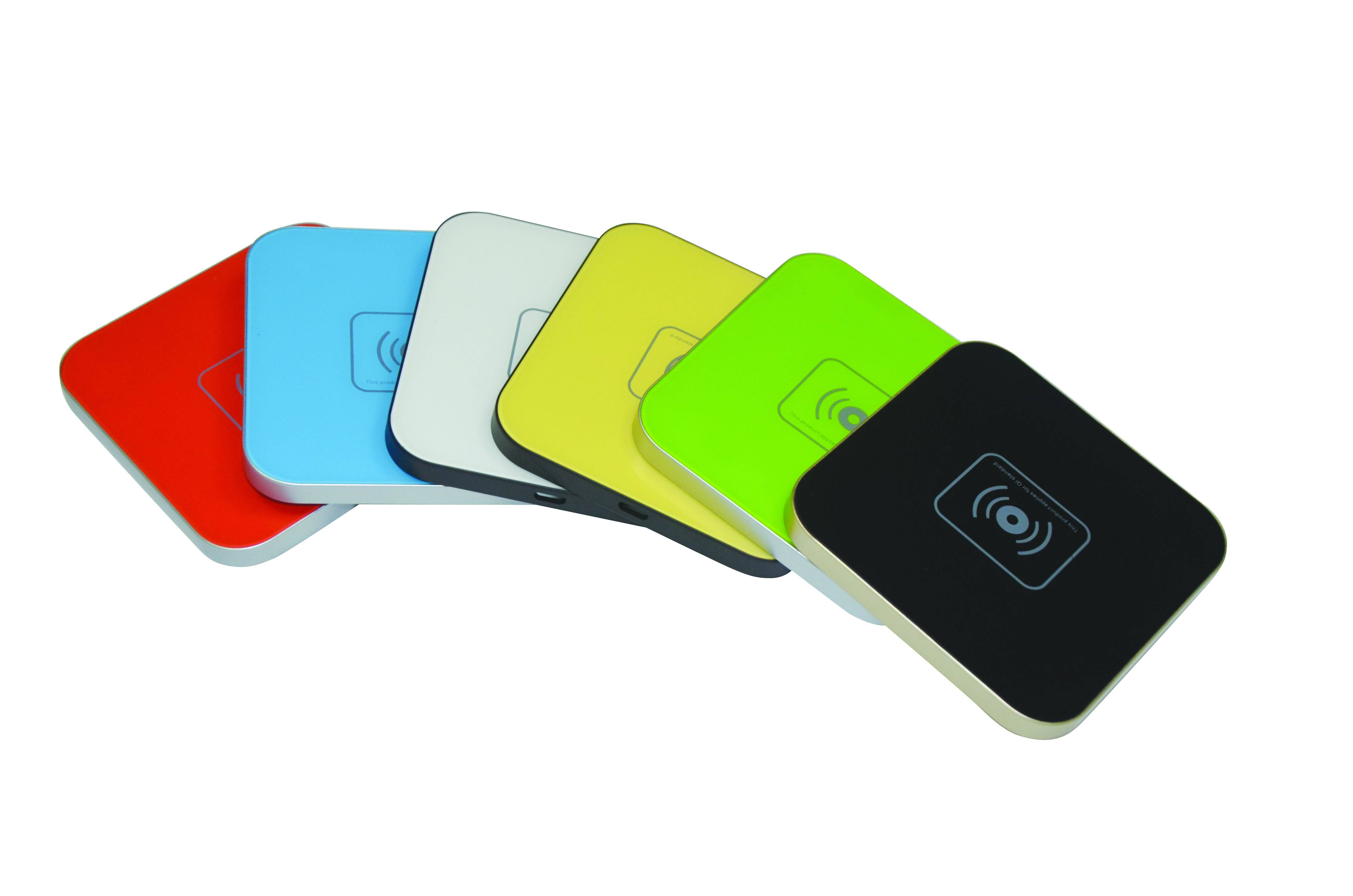 Colorful Wireless Charging Pad