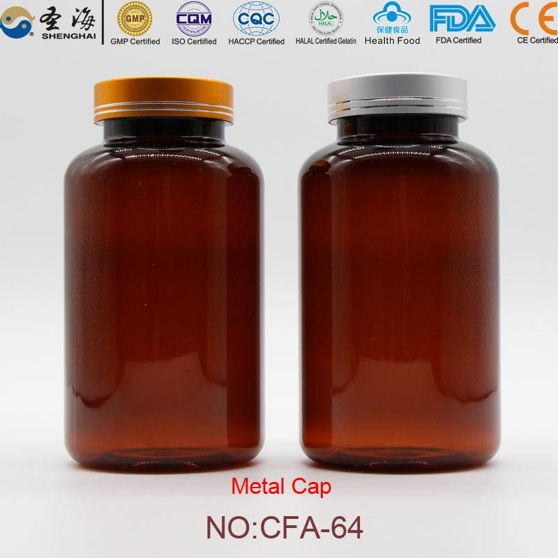 500ml Factory Direct Sale Plastic Bottle for Capsules
